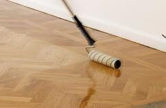 Gap filling & Finishing services provided by trained experts in Floor Sanding North East London